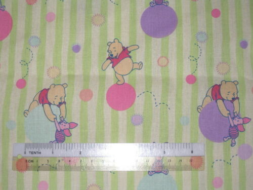 Winnie the Pooh Tigger Eeyore Piglet cotton quilting fabric *Choose design size
