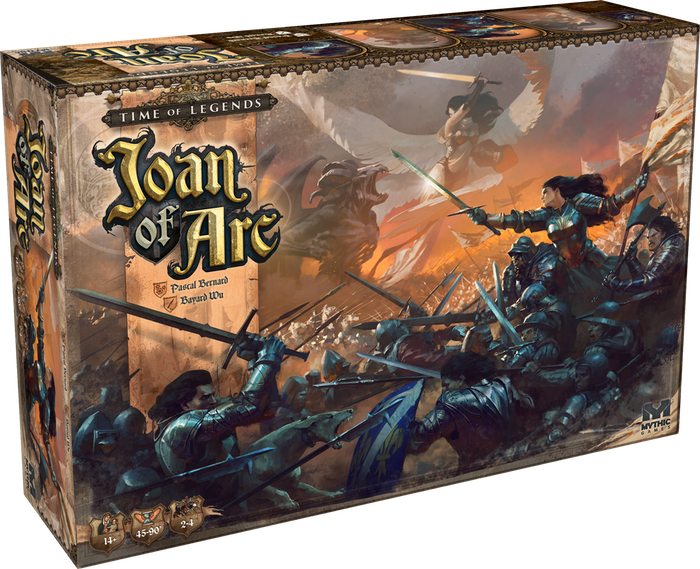 Mythic Games - Joan Of Arc - Time Of Legends Englisch Ausgabe - Board Game