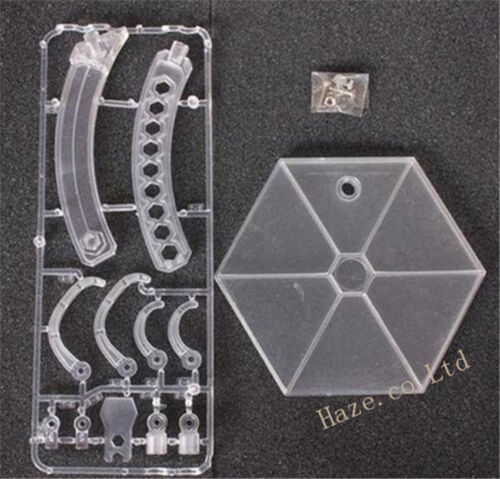 """Square Enix Play Arts Kai PVC Clear Stand for 12/"""" Figure Model Base Bracket New"""