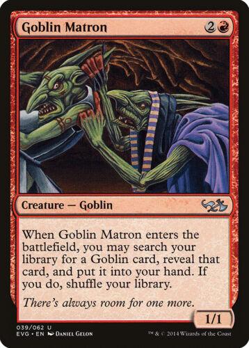 Elves vs Goblins NM-M CARD ABUGames Goblin Matron Duel Decks Anthology