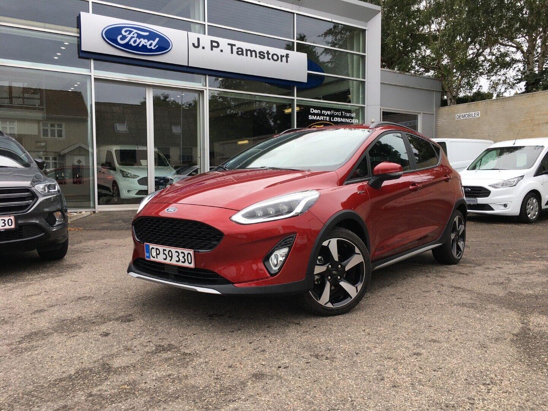 Ford Fiesta 1,0 EcoBoost Active 5d - 179.900 kr.