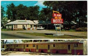 Plains-Motel-North-Platte-Nebraska-Cadillac-Car-TV-PC