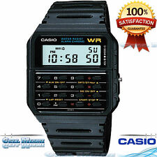 Casio CA53W-1 Classic Digial 8-Digit Calculator Watch Alarm Stopwatch Day/Date