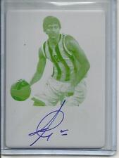 Ricky Rubio 12/13 Leaf Metal Autograph Yellow Printing Plate #1/1