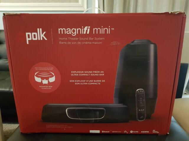Polk MagniFi Mini Ultra-Compact Home Theater Sound Bar System