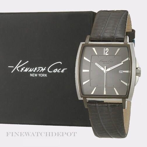 b6aaf0fc75d Authentic Kenneth Cole Men s Rubber Strap Blue Dial Watch Kc1689 for sale  online