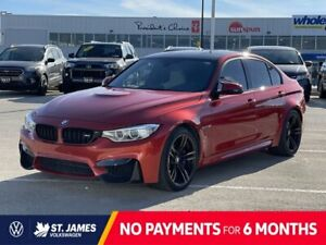 2015 BMW M3 HEATED SEATS, HEATED STEERING, PERFORMANCE EXHAUST