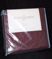 Jaclyn Smith Twin Sheet Set 300 Thread Count - Burgundy