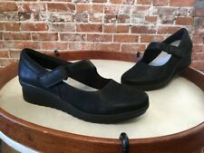 Corroer rival grua  Clarks 5 Caddell Yale Pump Shoes Comfort Wedge Cloudsteppers Mary Jane for  sale online | eBay