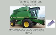 John Deere 9400 9500 Amp 9600 Combine Service Repair Technical Manual Tm1401 Usb