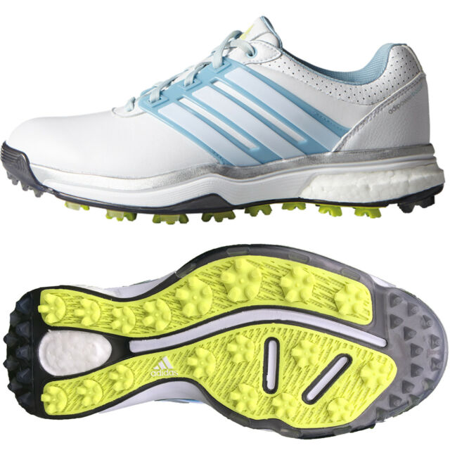 Womens adidas Adipower Boost Waterproof Spikes Golf Shoes Trainers ... 949e2c388b