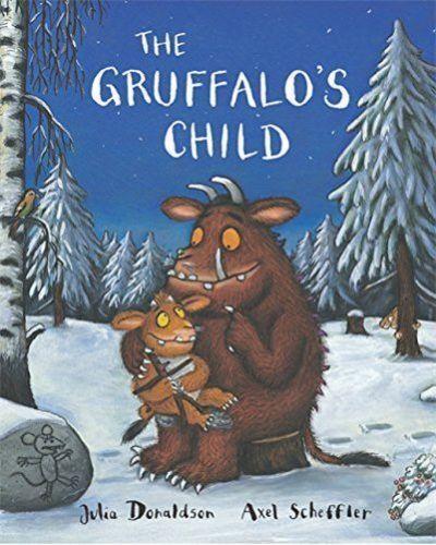 Julia Donaldson Story Book: THE GRUFFALOS CHILD STORY, Gruffalo's Child - 2019