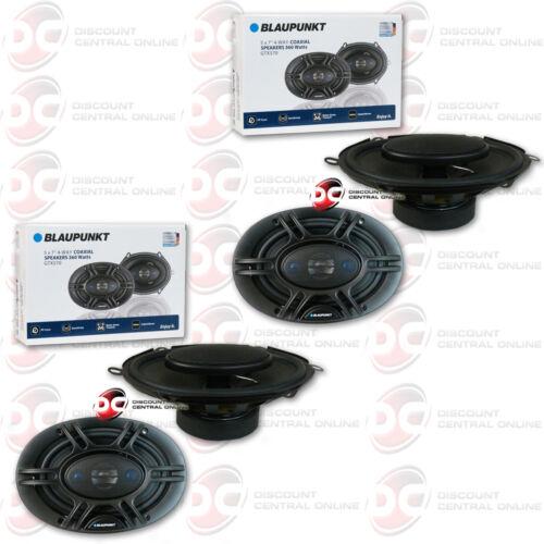 "4 x BRAND NEW BLAUPUNKT GTX570  5/""x 7/"" 4-WAY CAR AUDIO COAXIAL SPEAKERS"