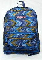 Jansport Superbreak School Backpack Navy Moonshine Painted T50102i With Tags