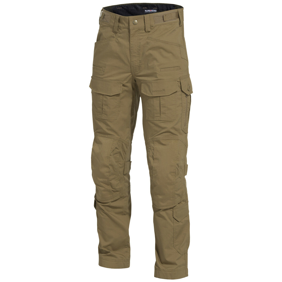 Pentagon Wolf Combat Pants Army Tactical Hunting Airsoft YKK Zippers Coyote