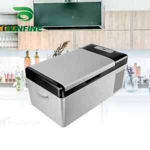Details about 12V/24V 110-240V Car Refrigerator 15L Multi-Function Fridge  Compressor Cooler