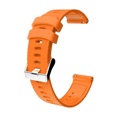 Silicone Wrist Band Strap For Garmin Vivoactive 3//Vivomove HR//Forerunner 245 645