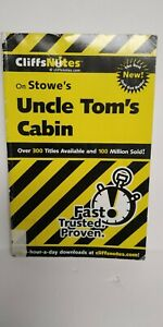 Cliffs-Notes-study-guide-for-Uncle-Tom-039-s-Cabin