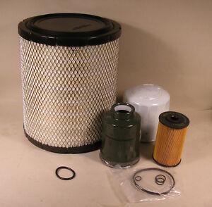 Isuzu Diesel NPR-HD, NQR, NRR 4HK1 Air Oil Fuel Filter Kit ...