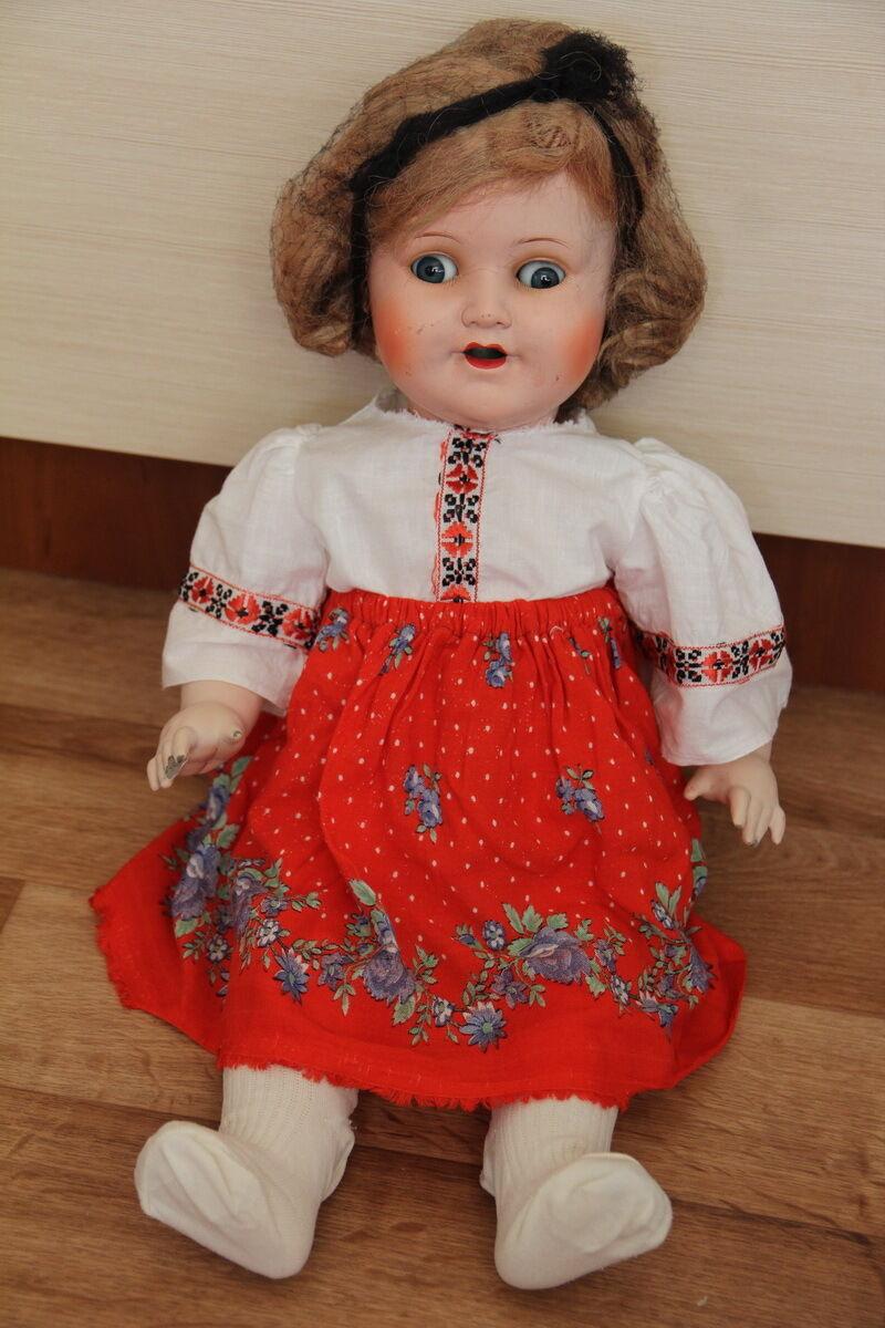 Antique bambola K &  W flirting crying Geruomoy ,bambola RARE f  Spedizione gratuita per tutti gli ordini
