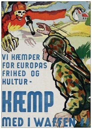 Militær, 3 feltpostmærker og 5 postkort
