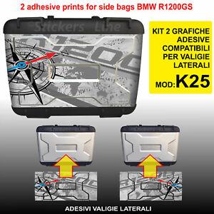 2-adesivi-valigie-BMW-R1200GS-mod-K25-bussola-planisfero-borse-fino-al-2012