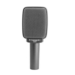 sennheiser e609 super cardioid dynamic instrument microphone silver brand new ebay. Black Bedroom Furniture Sets. Home Design Ideas