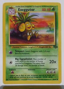 35//64 Unlimited Edition Jungle Set NM EXEGGUTOR Uncommon Pokemon Card