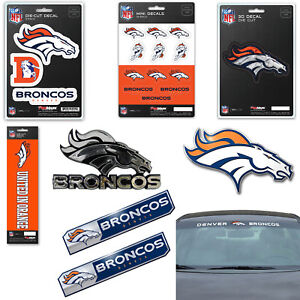 2a6b0e184d1 Image is loading NFL-Denver-Broncos-Premium-Vinyl-Decal-Sticker-Emblem-