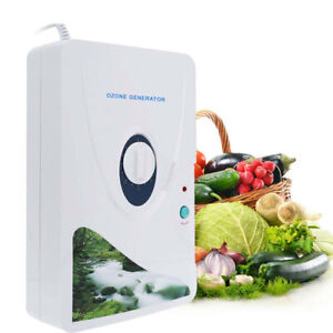 600mg New Ozone Generator Air Purifier Fruit/&Vegetable Disinfection Machine 110V