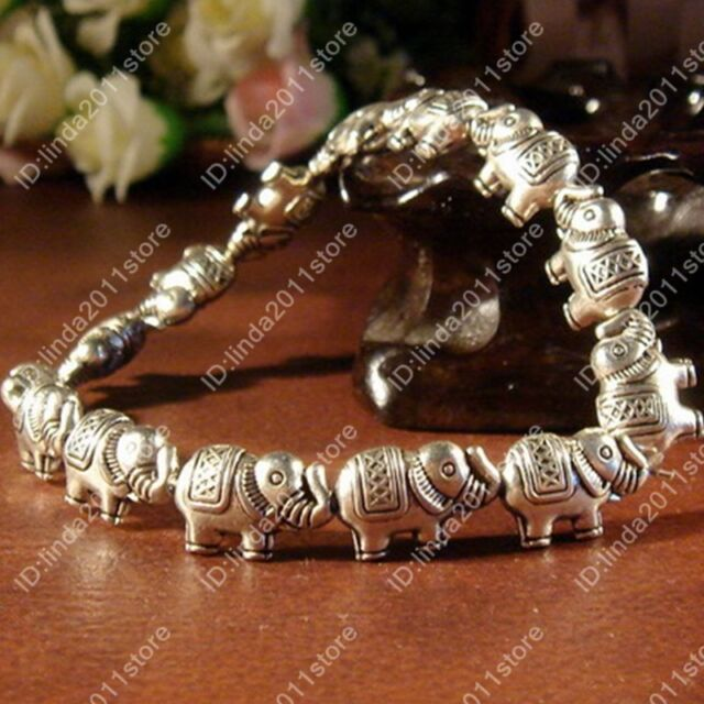 Workmanship Fine Fashion Tibetan Silver Elephant Bracelet Tibet Bangle