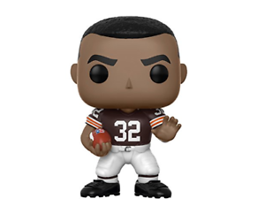 NFL POP  Jim Brown (Browns Home) Vinyl Figure Funko