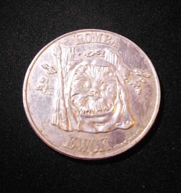 Vintage Star Wars Ewok Romba Coin POTF 1984
