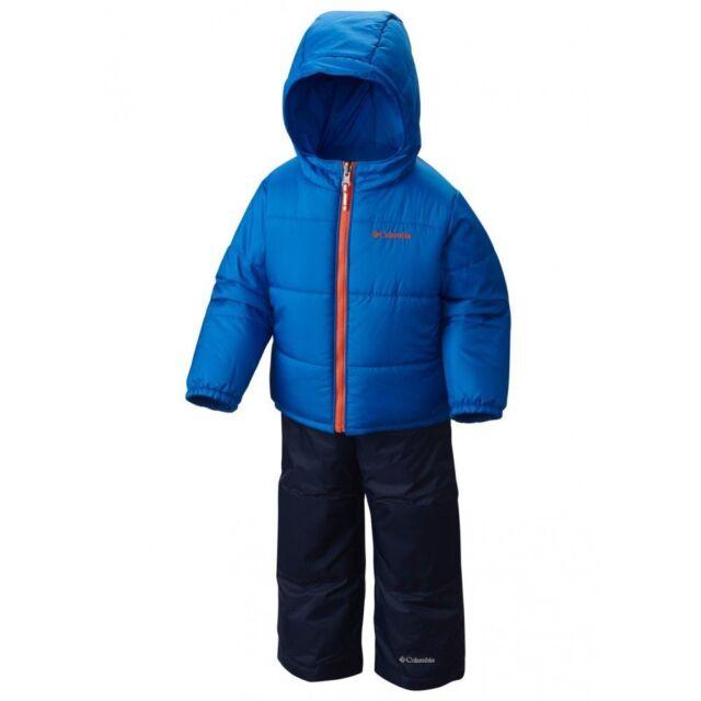 a00e1dd29d3f Columbia Baby Boys 6-12 Months Winter Jacket   Snow Pants Set Blue ...