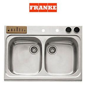 Franke Magnum Collection Double Bowl Undermount Kitchen