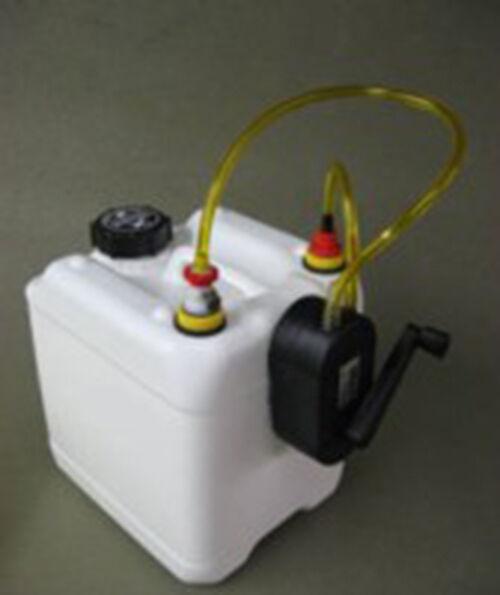 NEW Smoke Conteiner 2.5 gallons Hand Pump System  Jersey Modeler