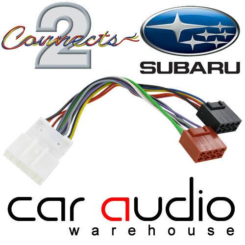 CT20SU02 para que quepa Subaru Impreza 2007 /> Radio Estéreo De Coche Arnés Adaptador ISO