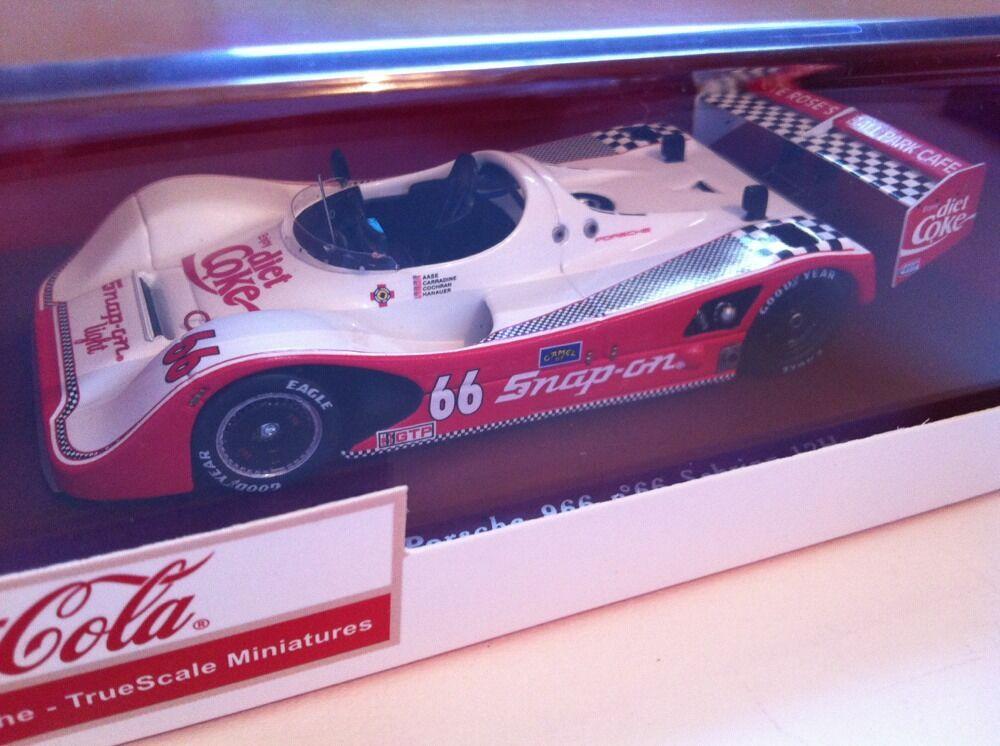 TrueScale miniatures 1993 Porsche 966   66 winner Sebring 12Hr 114303 NEUF