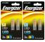 2W = 20W Energizer LED G9 ECO Filament capsule bulbs Warm /& Daylight white 85/%
