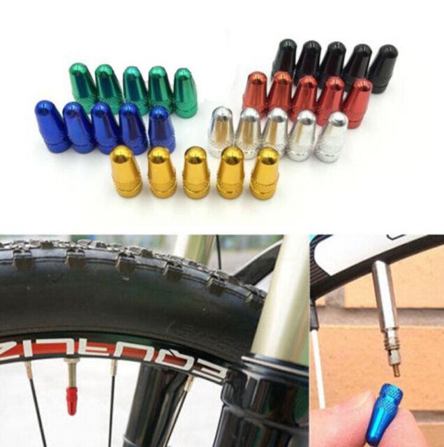 Nice 5x Road bike MTB Wheel Rim Tyre Stem Presta Valve Air Cap Fixie US