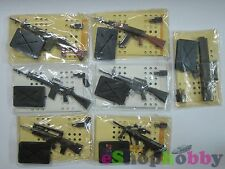 FURUTA 1/6 GUN MANIA ASSAULT RIFLE SERIES , SET OF 7 PCS