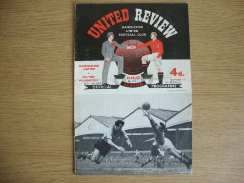 19567 Manchester United v Bolton Wanderers Reasonable Condition