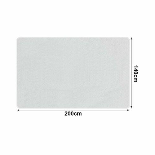 Matratzenschoner Matratzenauflage Wasserdicht Inkontinenz Matratzenschutz Weiß