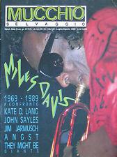 MUCCHIO 138 1989 Miles Davis Bruce Springsteen Angst Breathless Mudhoney Angst
