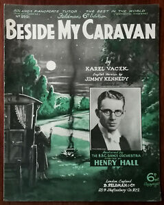 Beside-My-Caravan-by-Karel-Vacek-amp-Jimmy-Kennedy-Pub-1934