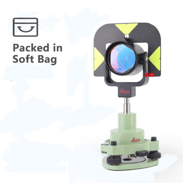 NEW GPR121 ALL-IN-ONE PROFESSIONAL PRISM FOR LEICA TOTAL STATIONS
