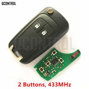 Car Remote Key Fob Fit For Opel Astra J, Corsa E, Insignia, Zafira C 433.9mhz