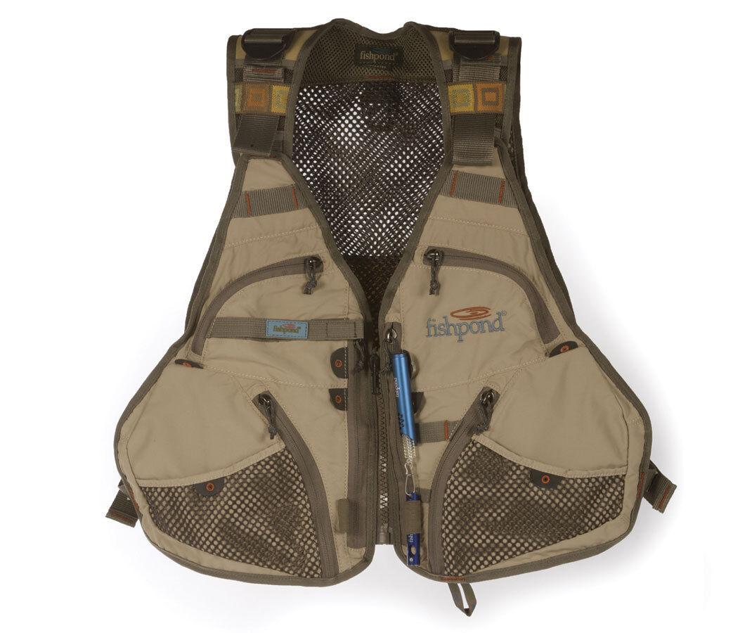 Fishpond Fly Fishing, Flint Hills Fishing Vest, Clay