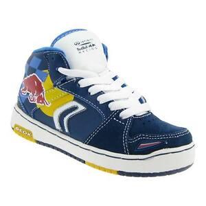 Chaussures Geox Sneaker Enfants Bull Red Racing Garçons zqzYP