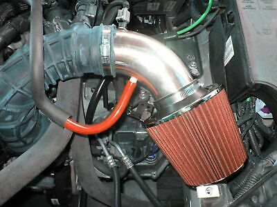 Sebring 2.4L L4 RED Short Ram Air Intake Kit Filter For 07-10 Avenger